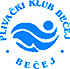 """Znak plivačkog kluba """"Bečej"""" iz Bečeja, organizatora takmičenja"""
